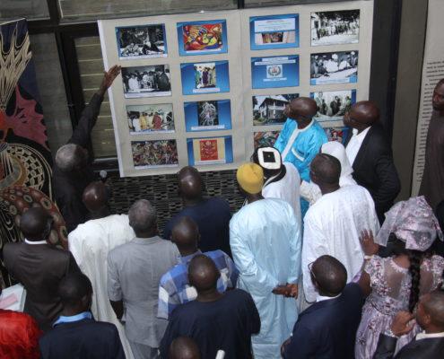 Exposition au siège de la Sonatel pour les 50 ans des MSAD