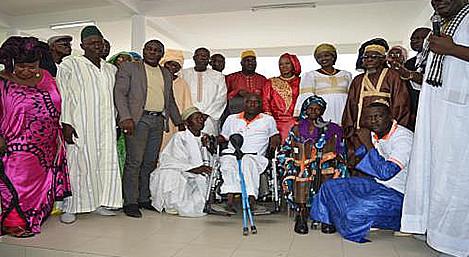 La Fondation sonatel soutien les handicapés à rufisque