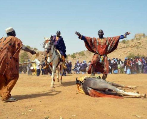 Festival de Bakel: Cheval dompté