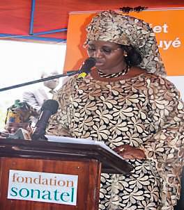 Mme Mariama SARR Ministre de la Femme, de la Famille et de l'Enfance