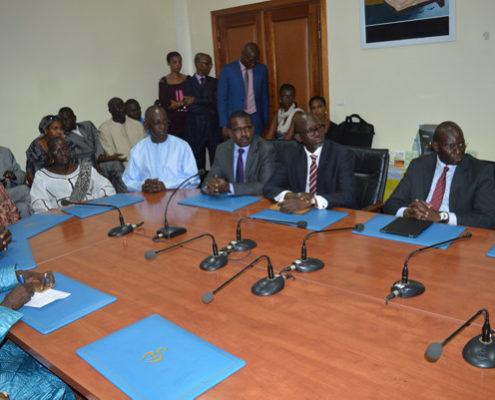signature contrat fondation sonatel ministere de la santé