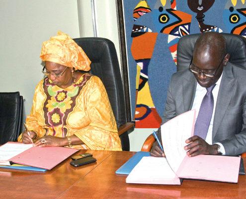 dg fondation sonatel & ministre de la santé