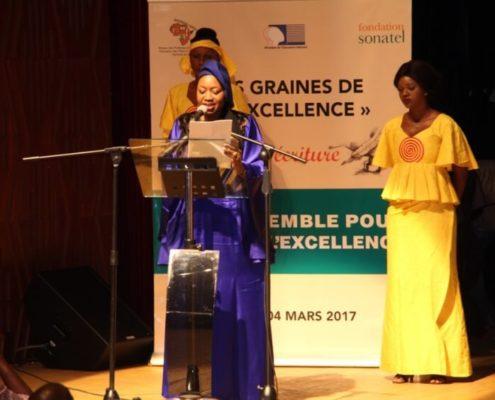 Discours Mme Sidibe aux Graines d'excellence