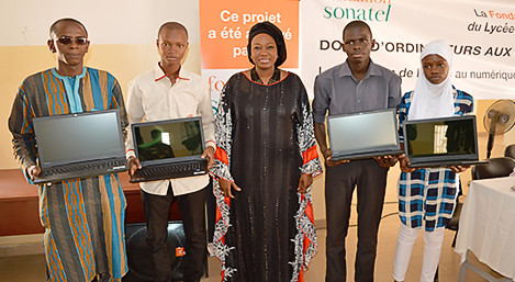 don fondation sonatel lycée diourbel