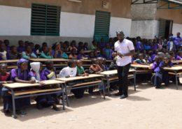 Cour école de Kafoutine 1