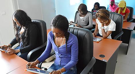 Célébration de la Journée Internationale Filles dans les TIC