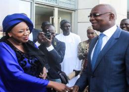 Mme Aminata Fall Sidibé au concours Graines de l'excellence