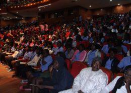 les élèves venus assistés au concours