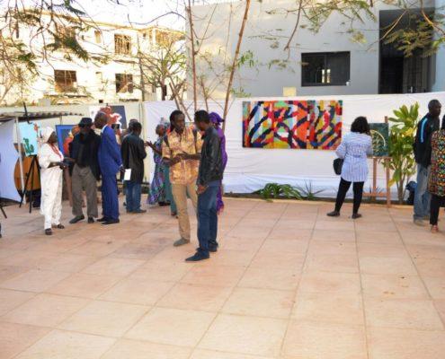 Les participants à l'expo ADEDICO Biennale 2018