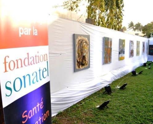 Exposition ADEDICO au siège de la Fondation Sonatel