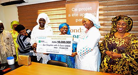 fondation sonatel soutient la lisca