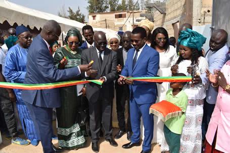 Inauguration de la Maternité de Sébikotane réhabilitée et équipée par la Fondation Sonatel